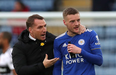 Saints defeat threatens Spurs' top-four hopes while Vardy brace seals first Leicester win for Rodgers