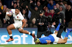 Tuilagi dots down on the double as rampant England thump Italy