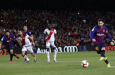 Messi penalty helps Barcelona rally from behind to restore seven-point lead