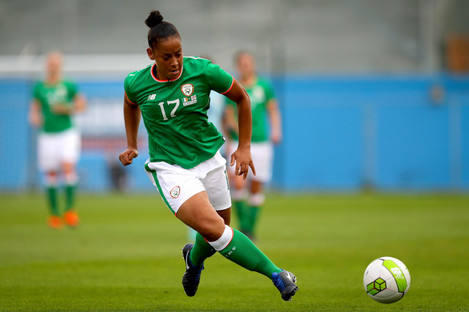 Rianna Jarrett scored 27 goals last season for Wexford Youths.