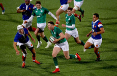 Ireland U20 centre French ready to put home comforts aside and chase Grand Slam