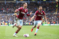 Jack Grealish scores winner in Second City derby after being attacked by Birmingham supporter