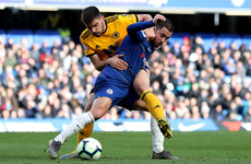 Hazard snatches late point for Chelsea with 92nd-minute equaliser against Wolves