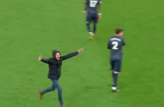 'Ban him for life': Arsenal pitch invader arrested just hours after separate Jack Grealish attack