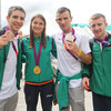 Olympic stars, Carroll and Spike fly flag for Ireland on massive St Patrick's weekend Stateside