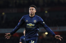 Lingard's celebration helped motivate Arsenal to avenge FA Cup defeat