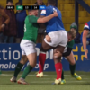 Superb Ireland U20 tackles stifle Joseph before French star shows fair play