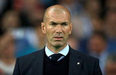 Zinedine Zidane completes shock Real Madrid return
