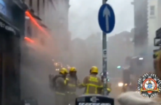 Section of Temple Bar closed off after fire at restaurant
