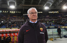 Ranieri off to a winning start as 10-man Roma maintain Champions League push