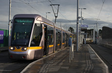 Pedestrian dies after being struck by Luas near Tallaght