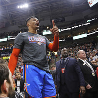 'I'll f*ck you up' - Thunder star Westbrook involved in heated exchange with Utah fan