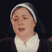 Siobhan McSweeney AKA Sister Michael isn't sure if a Derry Girls spin-off would work