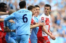 Round two: Joey Barton to fight Kompany charge