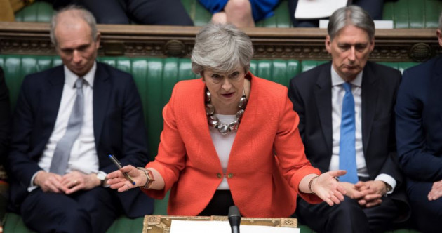As It Happened: Theresa May's Brexit deal defeated for a second time by 'thumping' majority