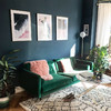 'The sofa is my prized possession': Fashion buyer Laura shares her stylish living room