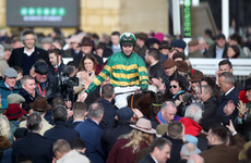 Espoir D'Allen wins the Champion Hurdle for Gavin Cromwell