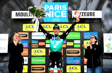 Ireland's Sam Bennett continues electric form after storming to stage win at Paris-Nice
