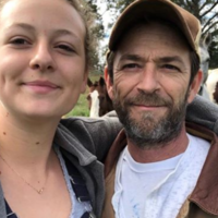 Here's why Luke Perry's daughter has had to 'justify' how she grieves for her father
