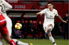 No Champions League hangover as Di Maria dazzles in PSG win