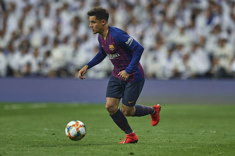 Philippe Coutinho of FC Barcelona (file pic).