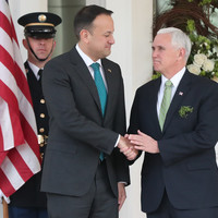 Breakfast meeting between Taoiseach and US Vice President Mike Pence will be open to the media this year