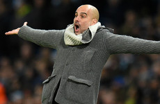 Guardiola saw Man City 'scared' during 7-0 mauling