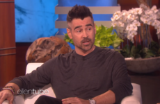 Colin Farrell told Ellen that he 'doesn't want to limit' his son, but is unsure if he'll ever drive