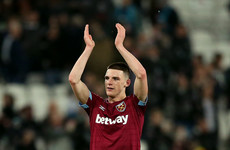 Declan Rice earns first England call-up after Ireland switch