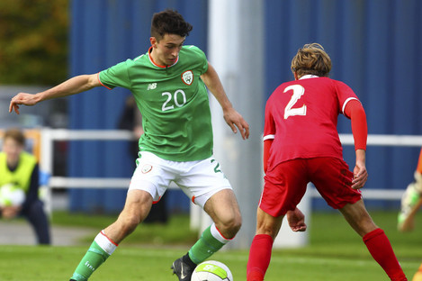 Neil Farrugia has been called up to the Republic of Ireland U21 squad.