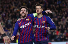 Messi scores panenka penalty against Lyon as Barcelona book quarter-final spot