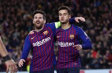 Messi scores panenka penalty against Lyon as Barcelona book quarter-final spot