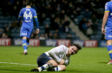 Alan Browne limps off as injury problems begin to mount for Mick McCarthy