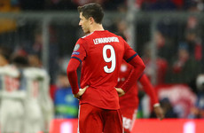 Lewandowski blames Bayern manager's 'defensive' tactics for Liverpool defeat