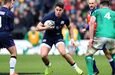 Maitland named at fullback in Scotland team to face England