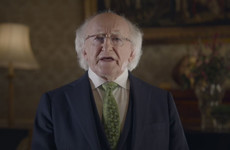 Michael D Higgins: 'As world buildings turn green, let's play our part in a greener world'