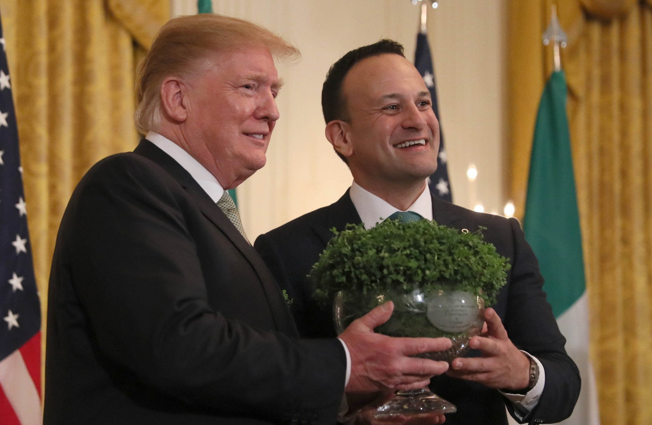 Trump Praises Irish Immigrants