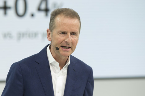Herbert Diess CEO of Volkswagen.