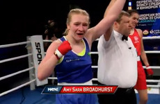 Amy Broadhurst guarantees European silver and books place in lightweight final