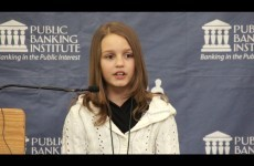 12-year-old explains the Canadian banking system, suggests way to wipe out national debt