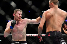 Duffy 'buzzing' for tonight's UFC return after 'dark days' during lengthy lay-off