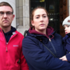 'I didn't realise how heavy it weighed on me': Homeless family on getting keys to their council house