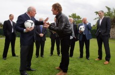 Caption time: when Liam Brady met Hector O'hEochagain