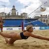 Civil servants win VIP view of beach volleyball