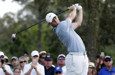 Eagle helps McIlroy take share of the lead at Sawgrass after superb 65
