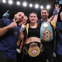 Taylor overcomes career-toughest test and batters Volante to win third world title