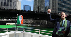 An unexpected guest and a luminous river: Leo ends St Patrick's trip not being centre of attention