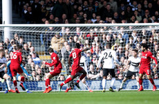 As it happened: Fulham vs Liverpool, Premier League