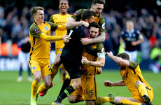 Brighton cap dramatic comeback to knock Millwall out of FA Cup on penalties