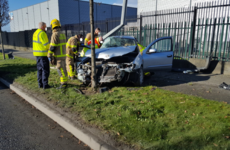 Man hospitalised following single-vehicle crash after failing to stop car for gardaí
